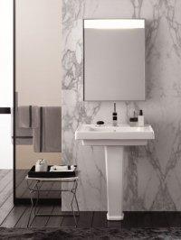 Dostojna łazienka w stylu Art Deco