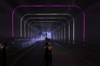 oświetlenie tunelu