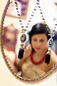 Lustro i biżuteria